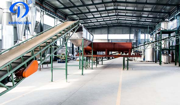 Cassava flour processing machinery