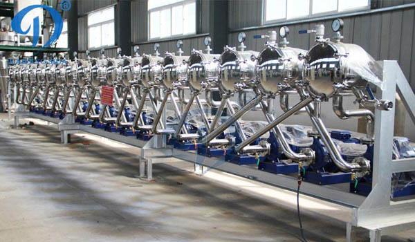 100 tons tapioca powder processing line Ghana
