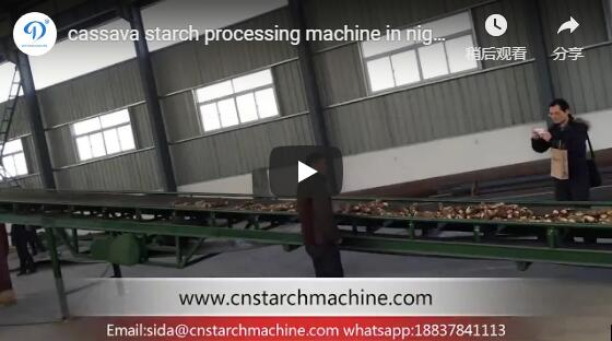Cassava Starch Processing Line in Nigeria
