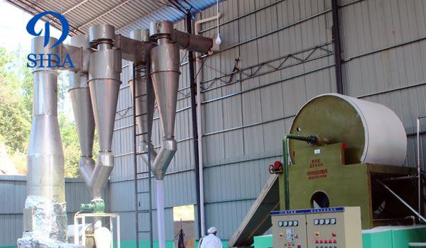 Tapioca starch processing line Malaysia