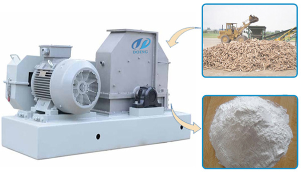 cassava starch production equipment
